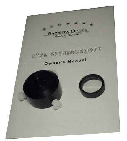 Rainbow Optics Star Spectroscope - Visual & Imaging