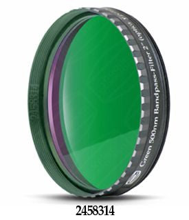 "Baader Green 500nm Bandpass Filter - 2"" Round Mounted"