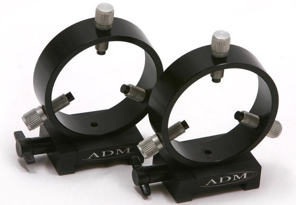 ADM 75 mm Vixen-Style Dovetail Rings