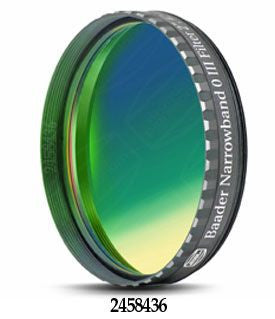 "Baader 8.5nm OIII CCD Filter - 2"" Round Mounted"