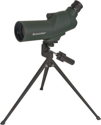 Open Box Celestron 50mm 45 Degree Zoom UpClose Spotting Scope
