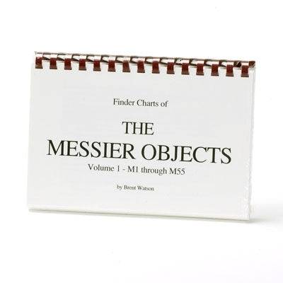 Finder Charts of The Messier Objects - Vol. 1, M1 thru M55