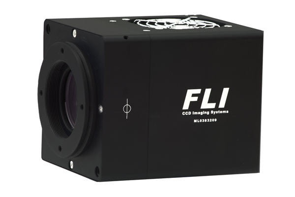 FLI Microline E2V 47-10 Grade One Back Illuminated UV Sensor with Fused Silica Optics and 25mm or 43mm High Speed Shutter