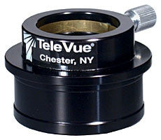 "Tele Vue 2"" to 1.25"" High-Hat Adapter - Glossy Black"