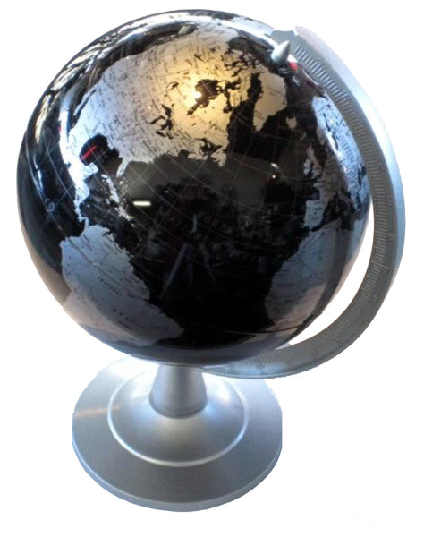 "Replogle 6"" Mini Delegate World Globe (Black)"