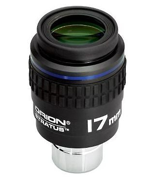 "Orion 17mm Stratus Wide-Field Eyepiece - 1.25"" / 2"""