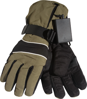 Thermo k'Night Battery-Powered Gloves - Large