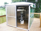 Pier-Tech Tele-Station 2 Roll-Off Roof Observatory - 8' X 8' X 6' I.D.