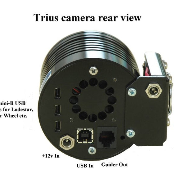 Starlight Xpress Trius SX-674 Mono CCD Camera Package with Filter Wheel,OAG & Lodestar