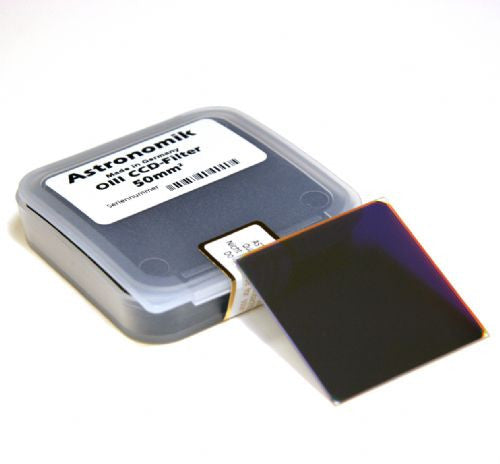 Astronomik OIII 12nm CCD Filter - 50mm Square Unmounted