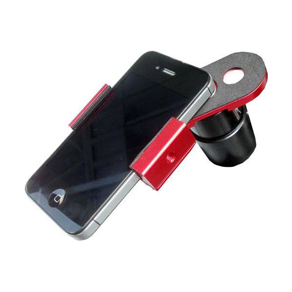 iOptron Universal Smartphone Eyepiece Adapter - Red
