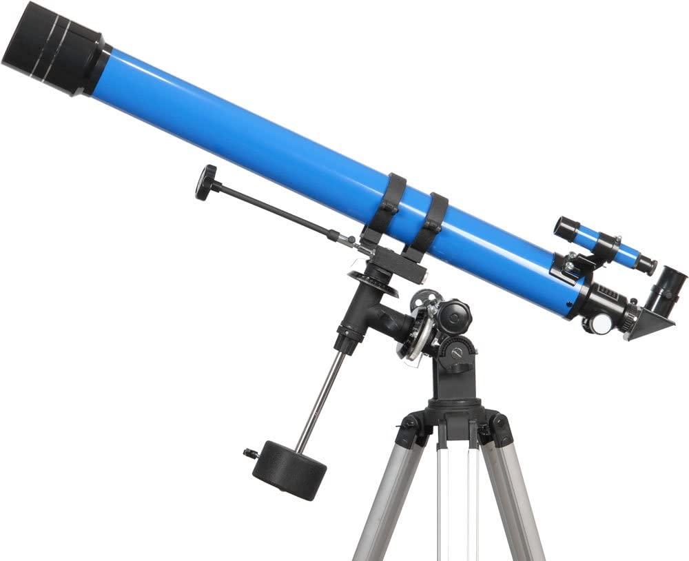 Used iOptron 70mm f/12.9 Doublet Refracting Telescope (Blue)