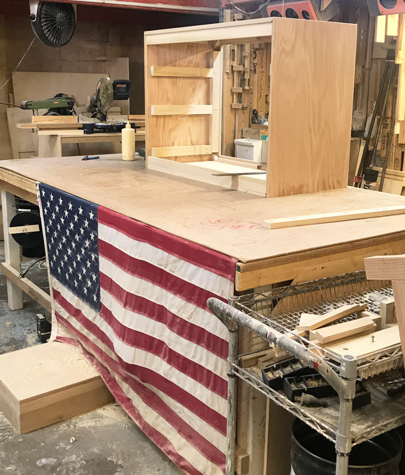 Made in the USA! How Newport Cottages Furniture is Made.