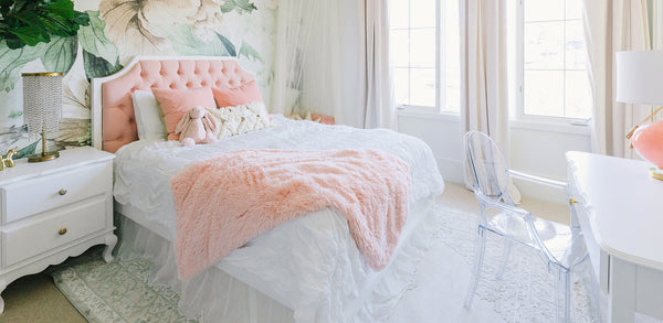 Floral Girl Bedroom