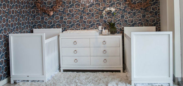 Glam Twin Nursery