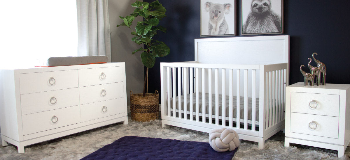 Navy And White Baby Room Made In Usa Baby Furniture Newport Cottages