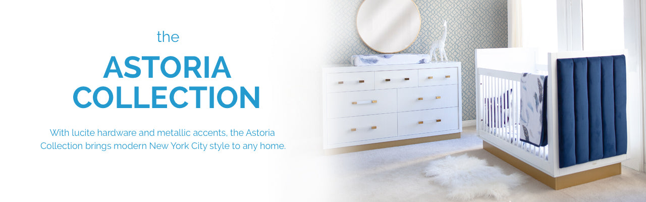 The Astoria Collection. Modern mid century kids furniture.