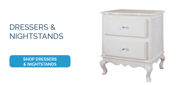 Newport Cottages Furniture Hilary Collection Dressers and Nightstands