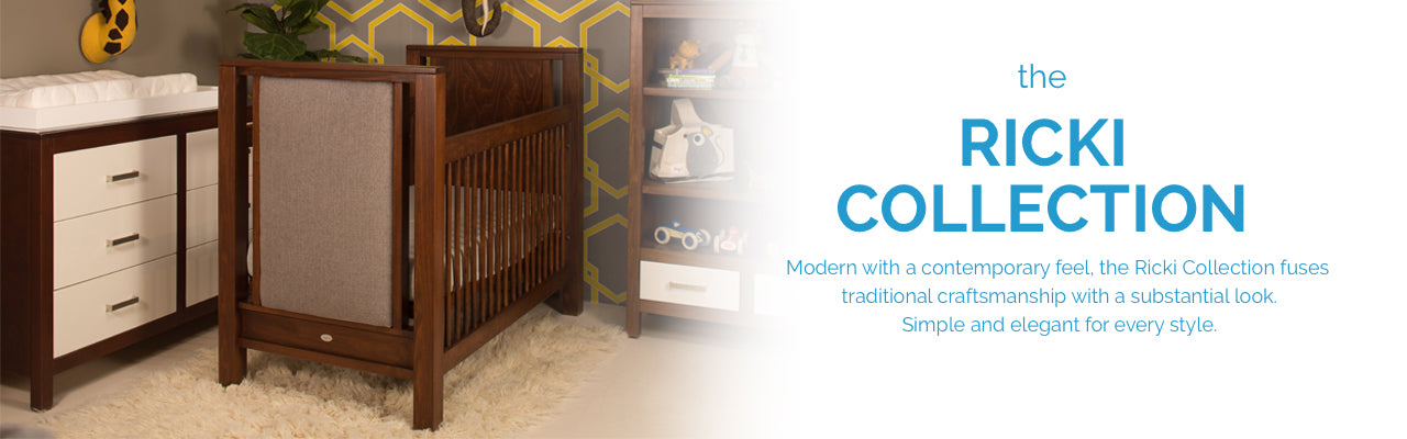 Newport Cottages Ricki Collection. Modern furniture for babies and kids. Made in USA.