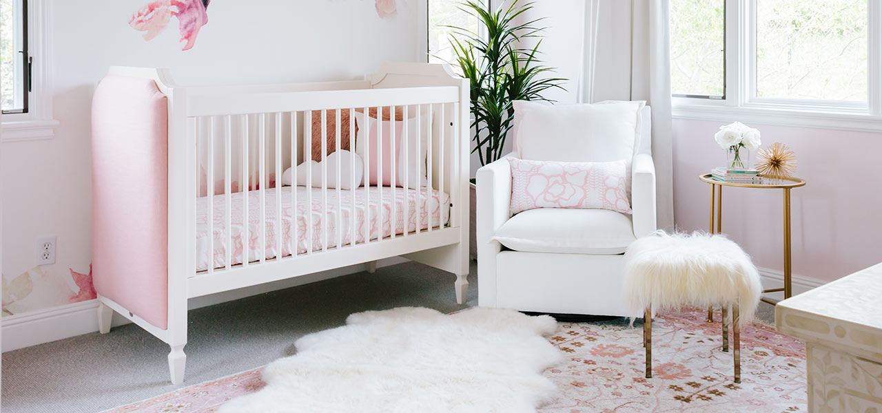 Tamera Mowry Baby Girl Room