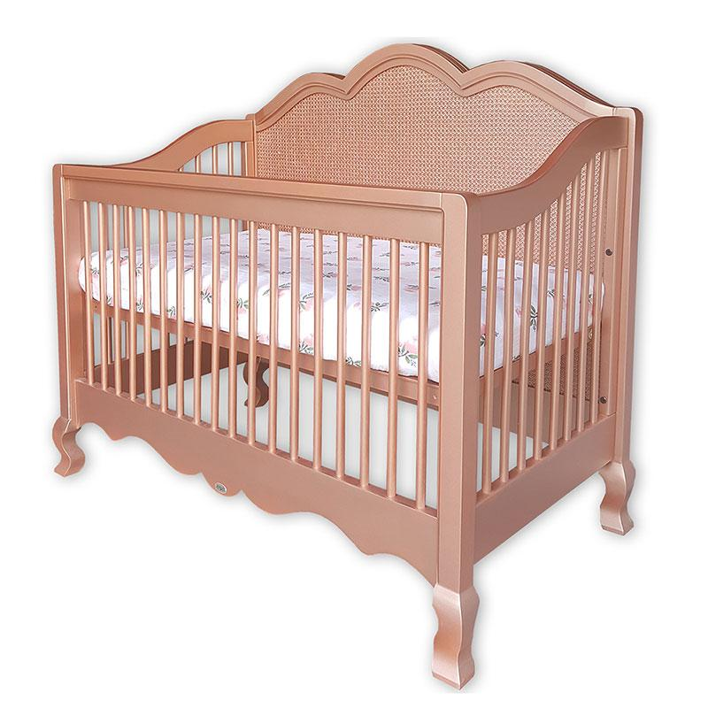 Hilary Conversion Crib With Caning Newport Cottages