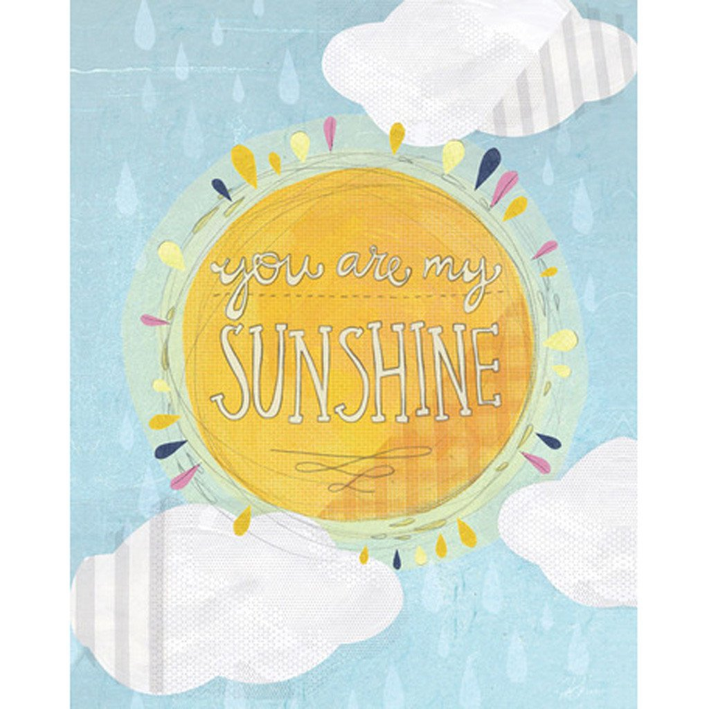 Oopsy Daisy | You Are My Sunshine Wall Art | Shop Newport Cottages ...