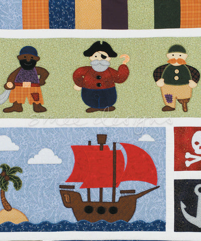 Pirates Ahoy Quilt