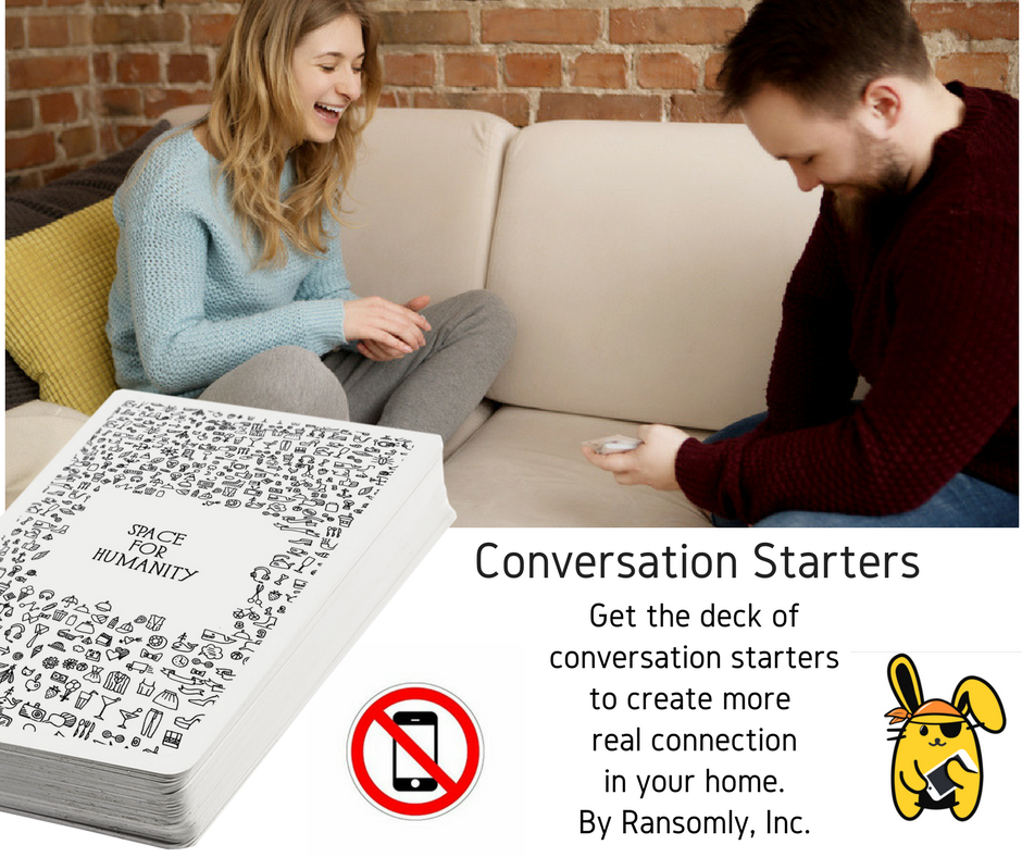 Deck (52 cards)  of Conversation Starters