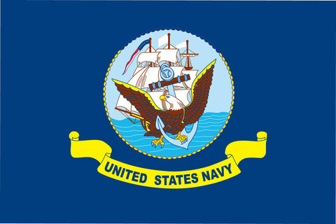 United States Navy 3'x5' Polyester Flag