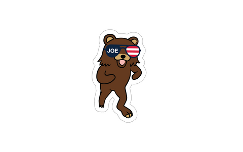 """Joe Bear"" Sticker"