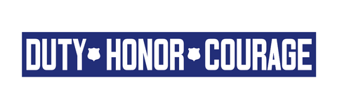 Duty, Honor, Courage TBL Decal