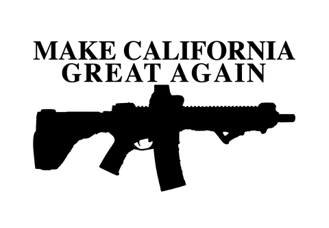 Make California Great Again Decal