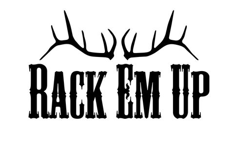 """Rack Em Up"" Decal"