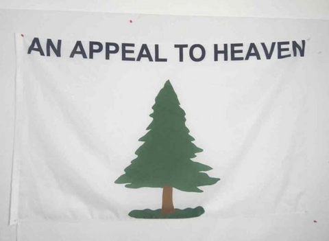 """An Appeal to Heaven"" 3'x5' Polyester Flag"