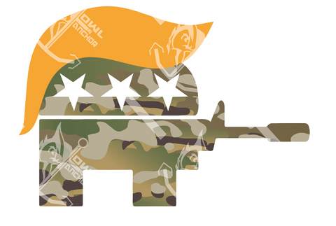 Multicam Republigun Sticker