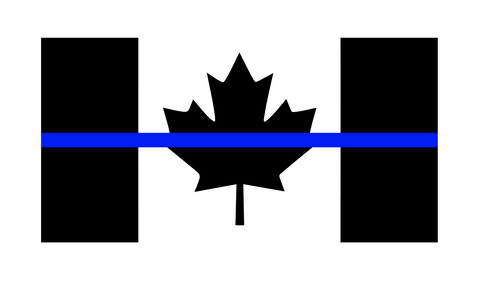 Canadian TBL Flag Decal