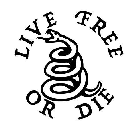 """Live Free or Die"" Decal"