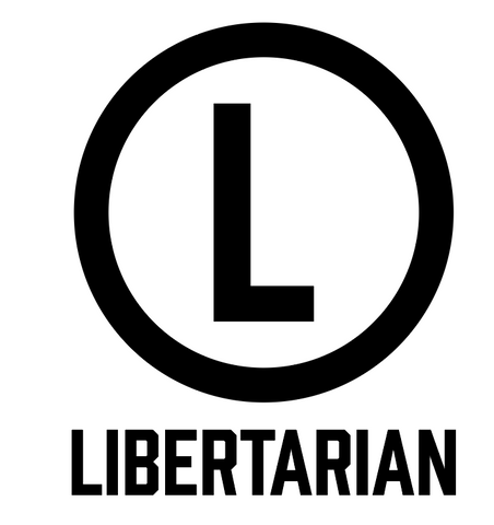 """Libertarian""  Decal"