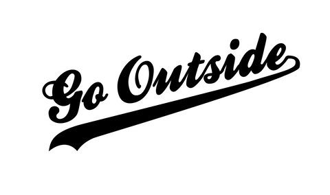 """Go Outside""  Decal"