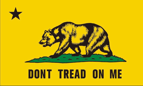 """Dont Tread on Me"" California Flag"