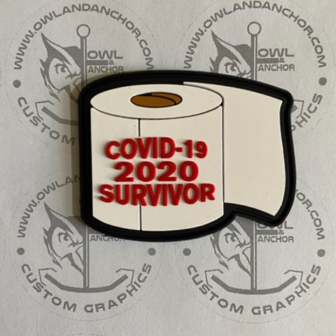 """Survivor"" PVC Patch"