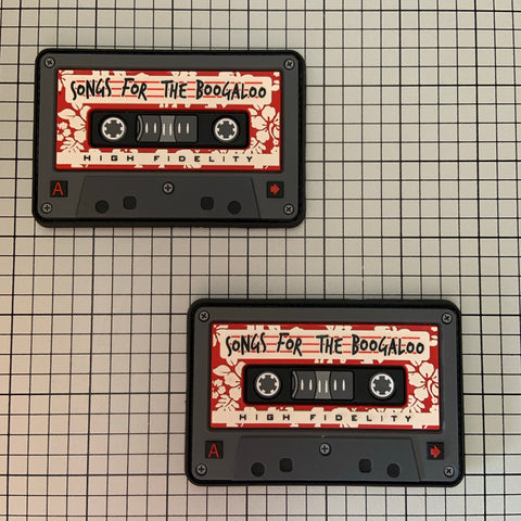 """Songs for the Boogaloo"" PVC Morale Patch"