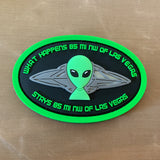 """Area 51"" PVC Patch"