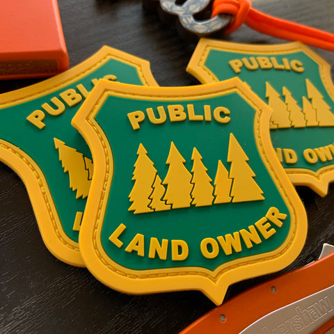 """Public Land Owner"" PVC Patch"