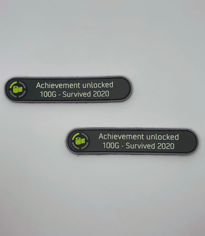 """Achievement Unlocked"" PVC Patch"
