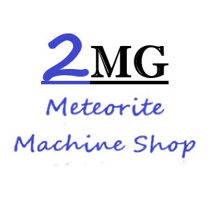 Welcome to 2MG Meteorite Machine Shop, an offshoot of Magic Mountain Gems. We are a fabrication shop for cutting meteorites. Our collections catalog is a sample of some of the products we have created that are available wholesale.