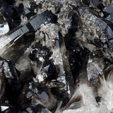 Close Up Photo of Black Smoky Quartz Crystal - Wholesale.