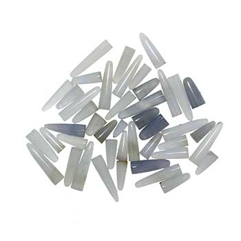 Blue Chalcedony Points in Assorted Sizes