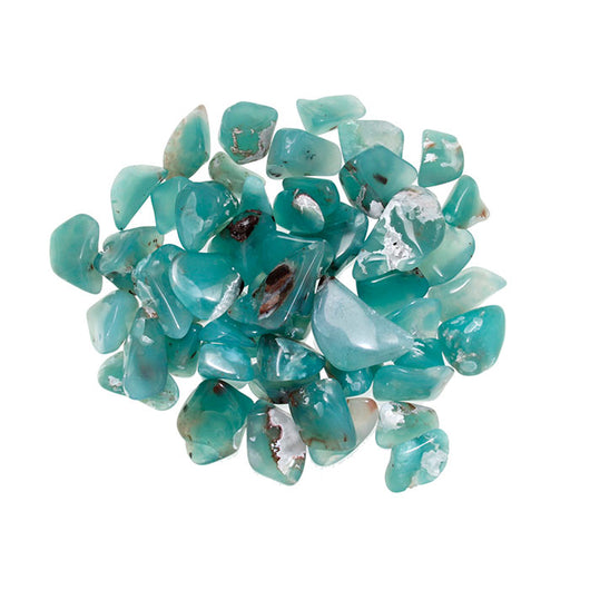 Chrome Chalcedony Assorted Tumbled Stones - Wholesale.
