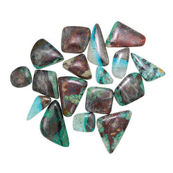 Copper Chrysocolla Free-form Wholesale Cabochons.